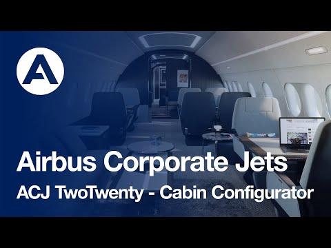 Airbus Corporate Jets unveils ACJ TwoTwenty cabin configurator