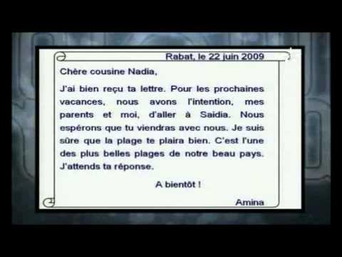 Lettre Personnelle Francais Youtube