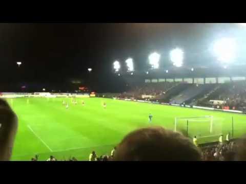 Oxford V Swindon - 5/9/12. After Potter scores the winner