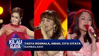 Video CANTIKNYA KELEWATAN!! Tasya Rosmala, Siti Badriah, Cita Citata [SAMBALADO] - RTKR (23/9) download MP3, 3GP, MP4, WEBM, AVI, FLV September 2018
