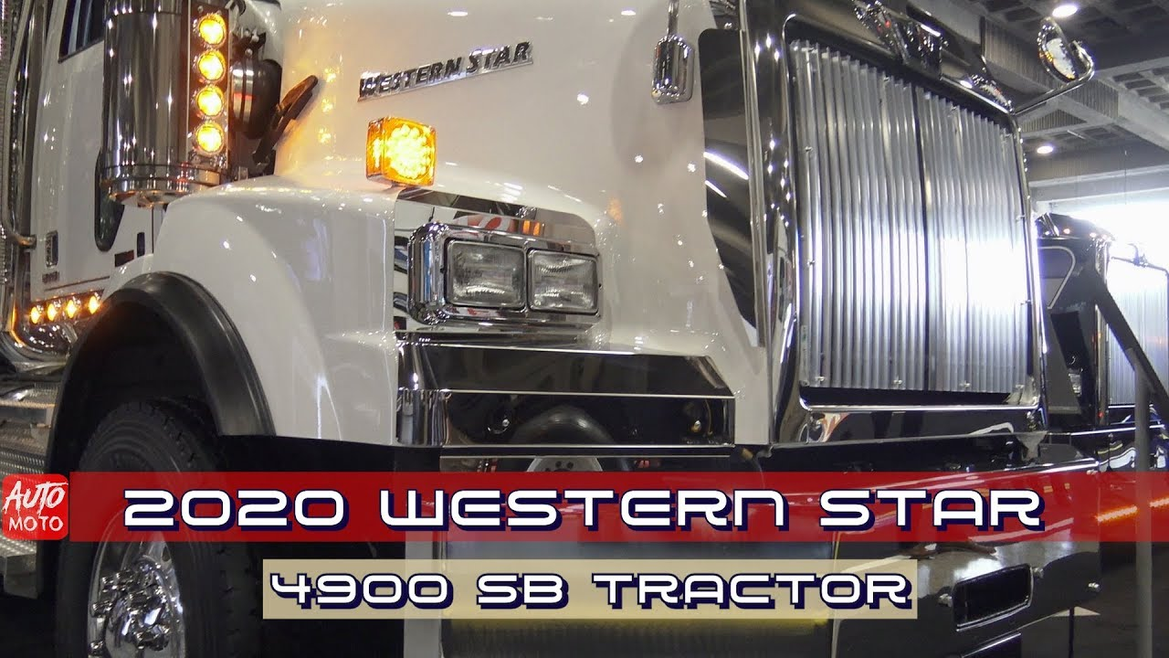 2020 Western Star 4900 SB Tractor - Exterior And interior - ExpoCam 2019