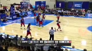 Draft Combine: 5-on-5 Scrimmage Highlights | 2015 NBA Draft