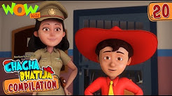Chacha Bhatija Compilation 20 Funny Animated Stories
