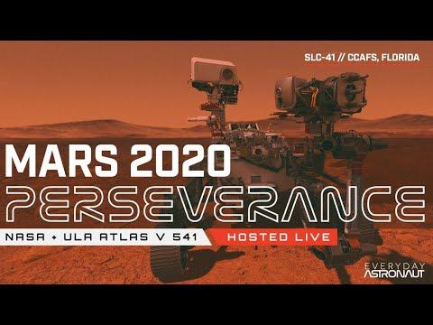 Watch NASA launch the Mars 2020 rover (Perseverance) on ULA's Atlas V Rocket!