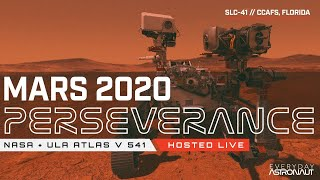 Watch NASA launch the Mars 2020 rover (Perseverance) on ULA's Atlas V Rocket!