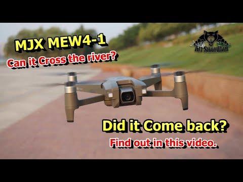 MJX MEW4-1 5G WiFi FPV Camera Aerial filming drone Range Testing