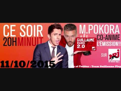 Guillaume Radio 2.0 Emission Special Co animer avec M Pokora