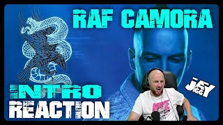 RAF Camora - Intro I REACTION