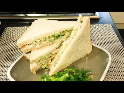 How to make simple and easy Chicken salad sandwich | Hawaiian chicken sandwiches| sandwich recipe