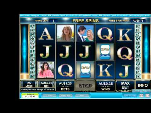 The Bold & The Beautiful Pokie Machine -  Free Spins - Free Feature - Soap Themed Video Slots!