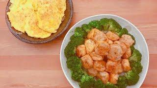 釀豆卜 / 金針菇煎蛋
