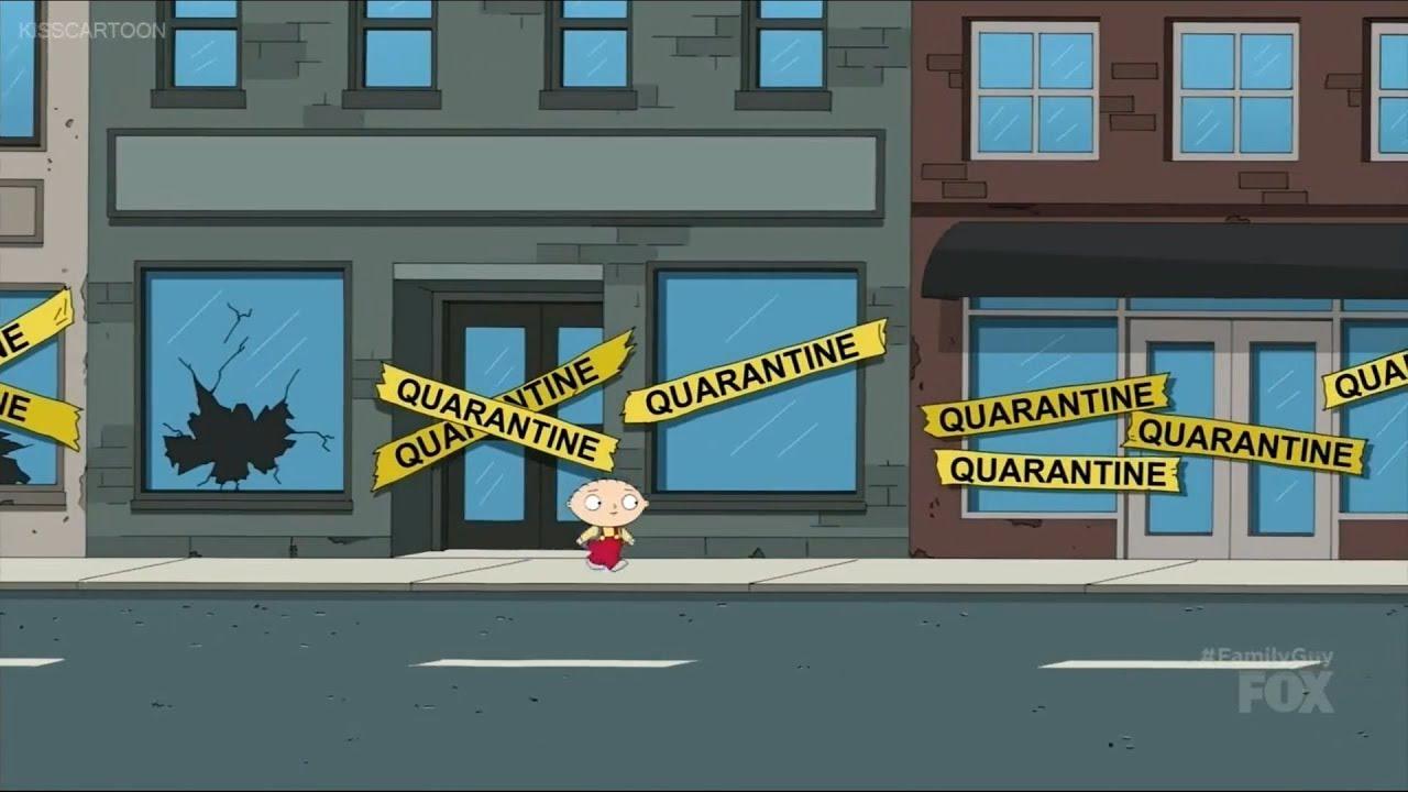 Family Guy Quaghog Under Quarantine 4K