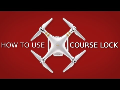 How to use IOC Course Lock | DJI PHANTOM 3 + 4
