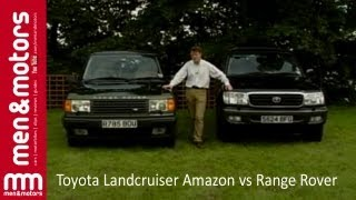 Toyota Land Cruiser Amazon vs Range Rover