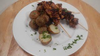 Paprika Chicken With Roasted Potatoes | Sanjeev Kapoor Khazana