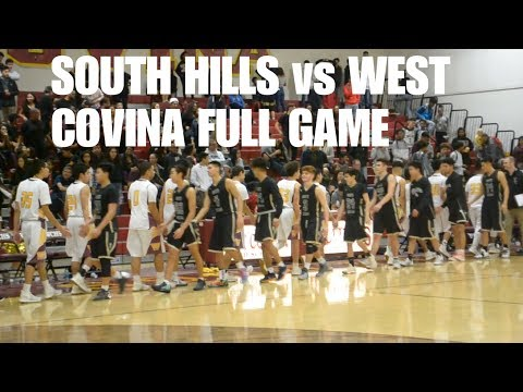 SOUTH HILLS VS WEST COVINA! RIVALRY GAME! SOLD OUT CROWD!