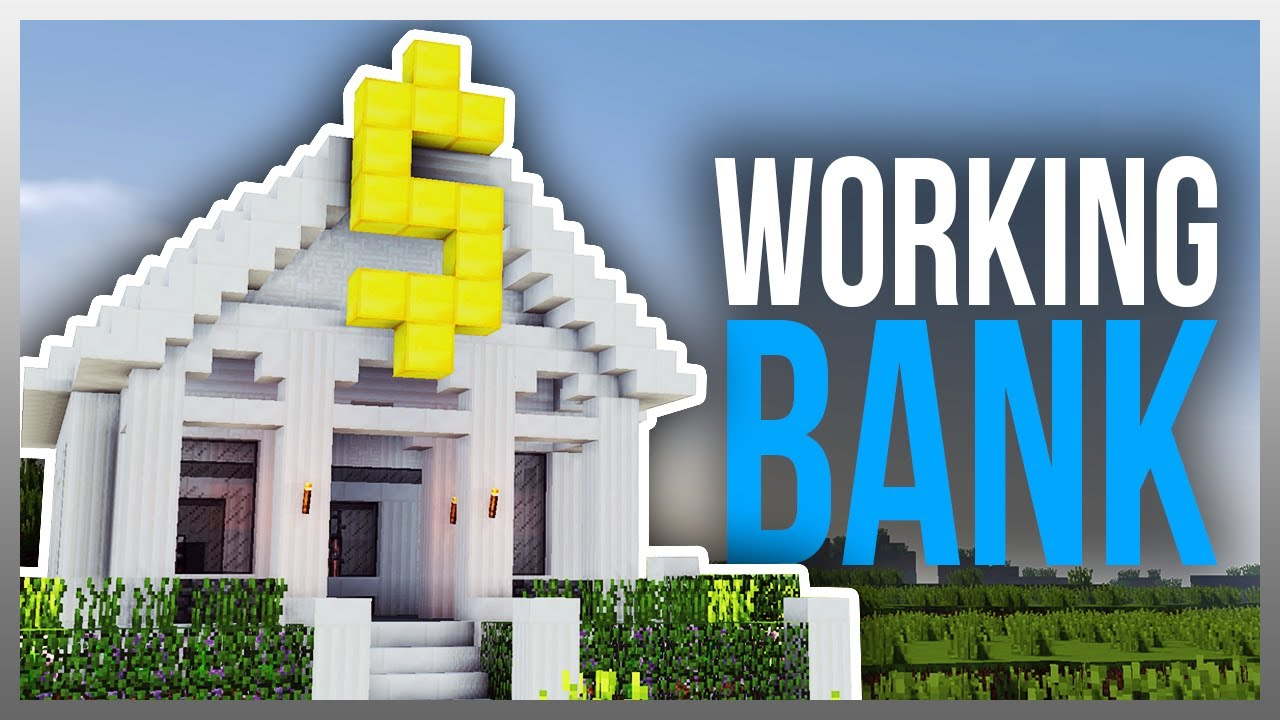 Minecraft redstone bank tutorial(xbox 360 ps3 xbox one ps4) youtube.