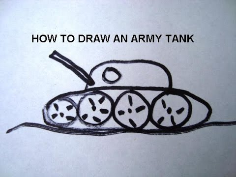 how to draw an army tank learn to draw for boys free video art lessons - Drawing For Boys
