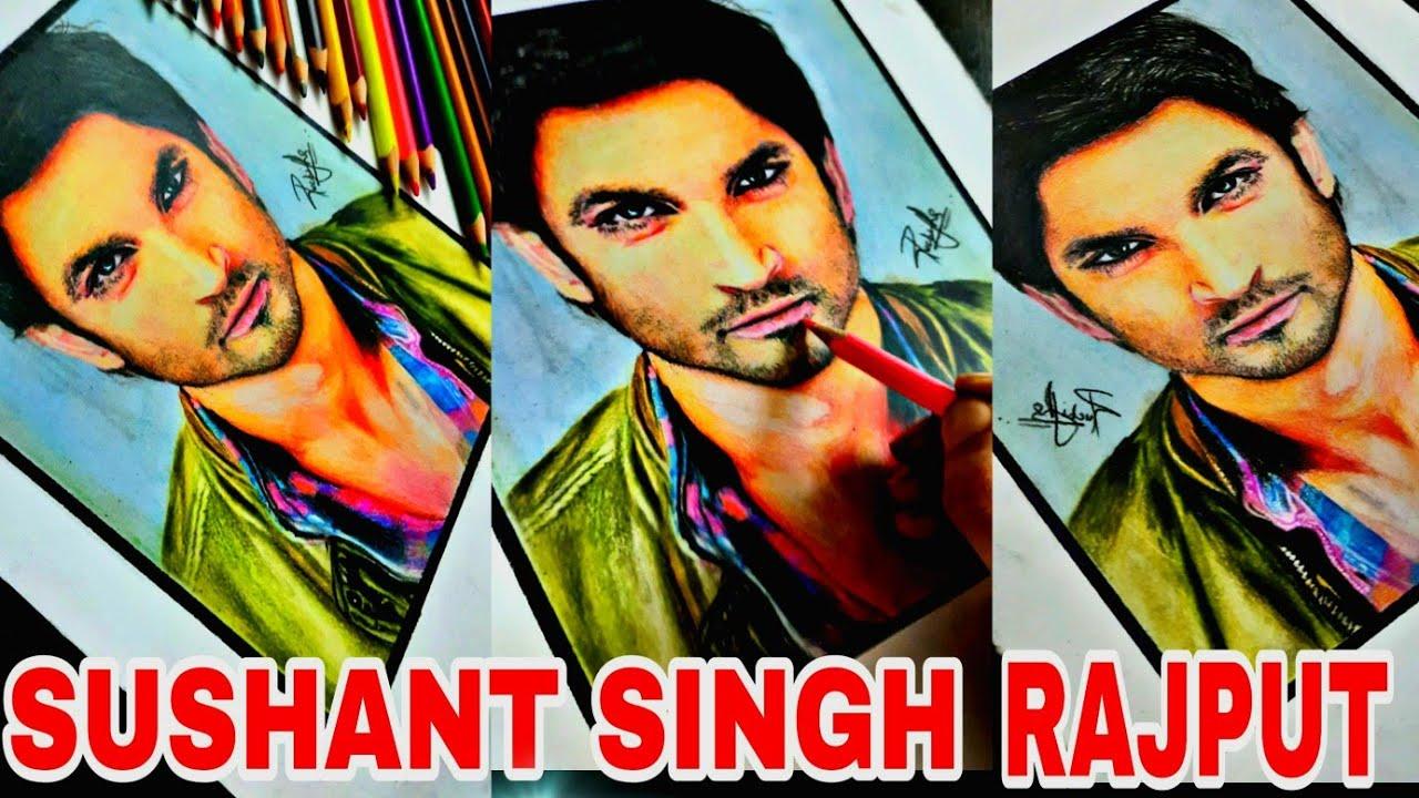 DRAWING SUSHANT SINGH RAJPUT| RIP SUSHANT SINGH RAJPUT #sketchgalaxy #sushantsinghrajput #drawing