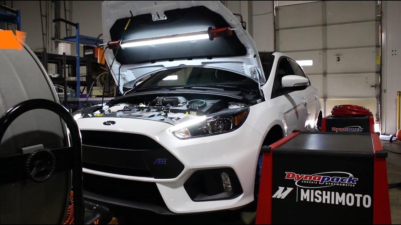 Mishimoto 2016 ford focus rs performance intake dyno testing