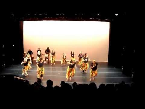 WEST AFRICAN DANCE ALVIN AILEY 2013