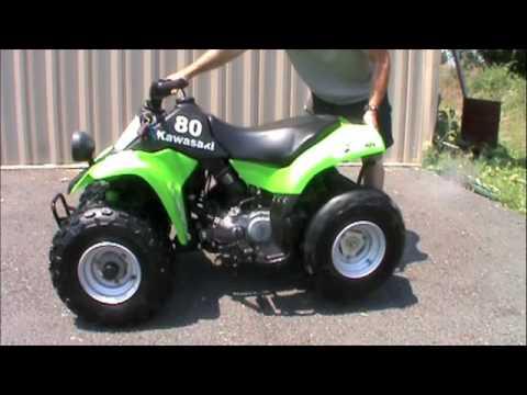 06 Kawasaki KFX 80 For Sale - YouTube