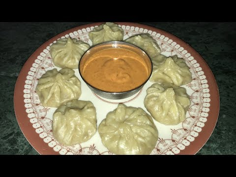 Veg Momos recipe. Steamed without steamer easy veg momos home recipe.