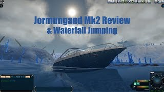 ENTROPIA UNIVERSE: Jormungand Mk2 Vehicle Review + Waterfall Jumping!