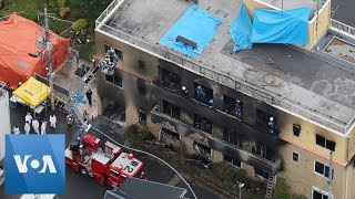 24 Dead in Suspected Arson Attack on Japan Animation Studio