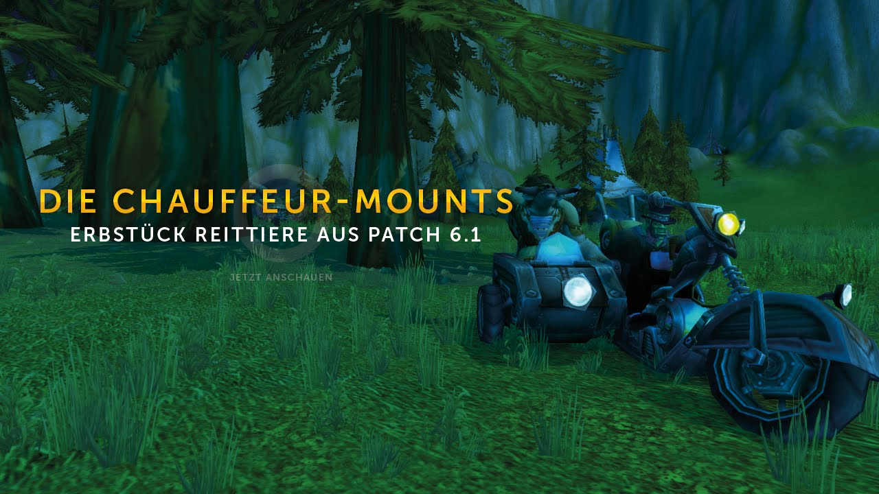 Warlords of Draenor Patch 602 Background Download Begins!