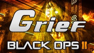 "Black Ops 2 ""ZOMBIES"" - LIVE ""GRIEF MODE"" on Farm Part 2! - (COD BO2 Zombies 4V4 Mode Gameplay)"