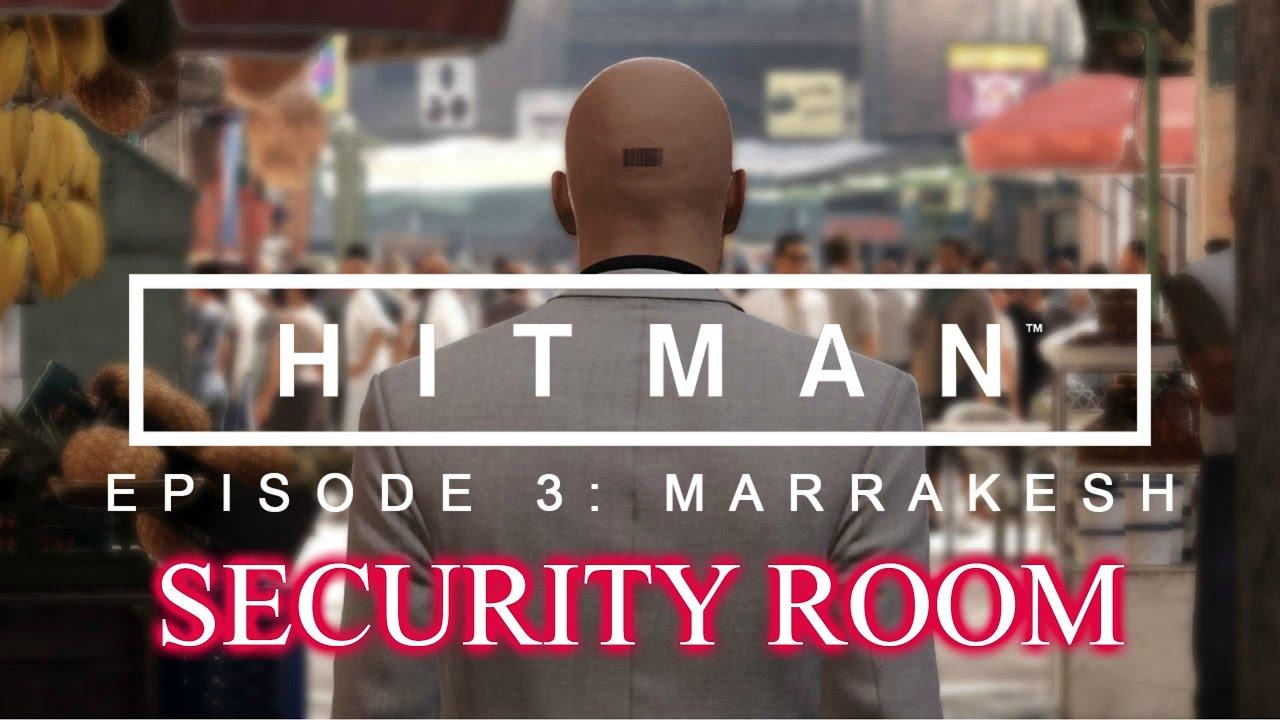 hitman bangkok security room map