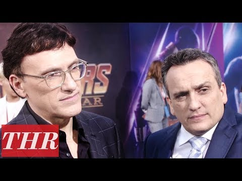 Anthony & Joe Russo on 'Avengers: Infinity War' Premiere Red Carpet   THR