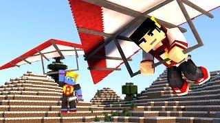 Minecraft: Saphira #5 - Torre Super alta de Asa Delta ‹ AM3NIC ›