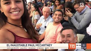 La noche de Paul McCartney en Chile