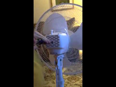 How to assemble a Room Essentials Pedestal Fan - YouTube