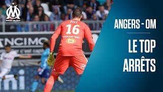 Angers - OM   Le top des arrêts de Yohann Pelé