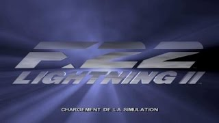 F-22 Lightning II gameplay (PC Game, 1996)