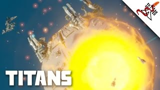 Planetary Annihilation: Titans Gameplay - 10P FFA Annihilaser Rush + Halleys | Multiplayer Madness