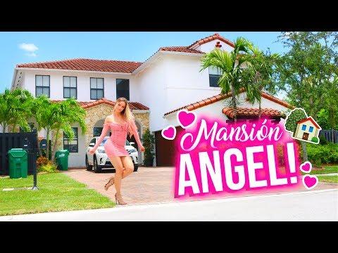 HOUSE TOUR! 🏡✨ ¡LA CASA DE MIS SUEÑOS! 💕 (VACÍA) | Katie Angel
