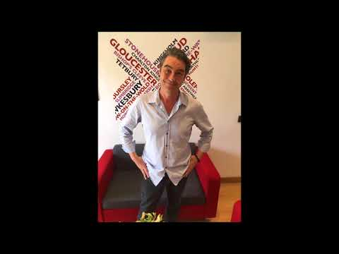 Nathaniel Parker on BBC Radio Gloucestershire.