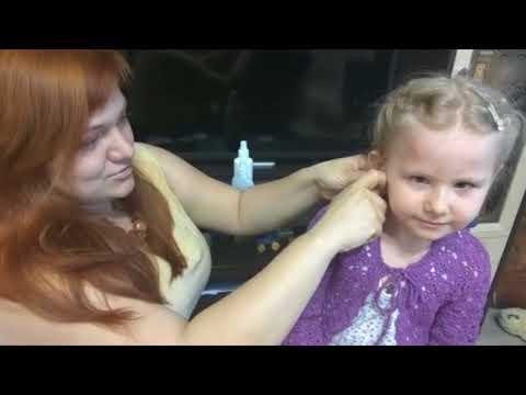 Как обработать ушки после прокола у ребенка