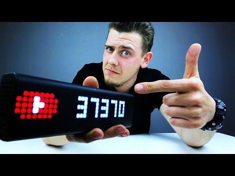 LaMetric Time YouTube Counter! Умные Настольные Часы