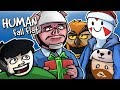 Human Fall Flat - XMAS MAP FUN TIME! (Funny Moments)