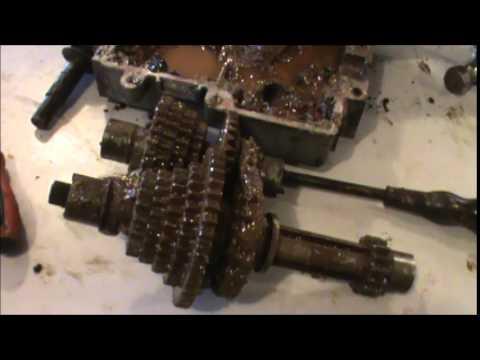 John Deere D105 Wiring Diagram Tecumseh Peerless Transmission Repair Youtube
