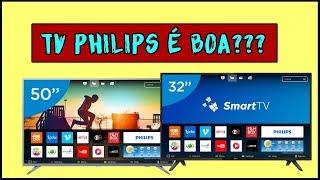 Tv philips 50 4k serie 6500 é boa