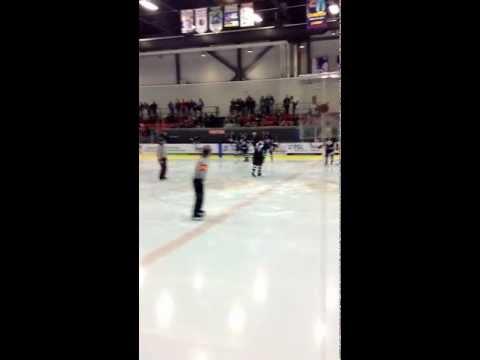 Aimee - Hockey Fight Escalates Quickly
