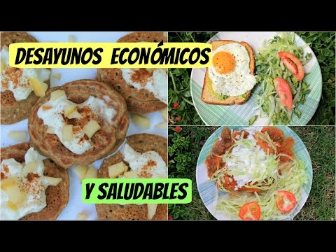 Desayunos económicos y saludables| Menos de 1 USD
