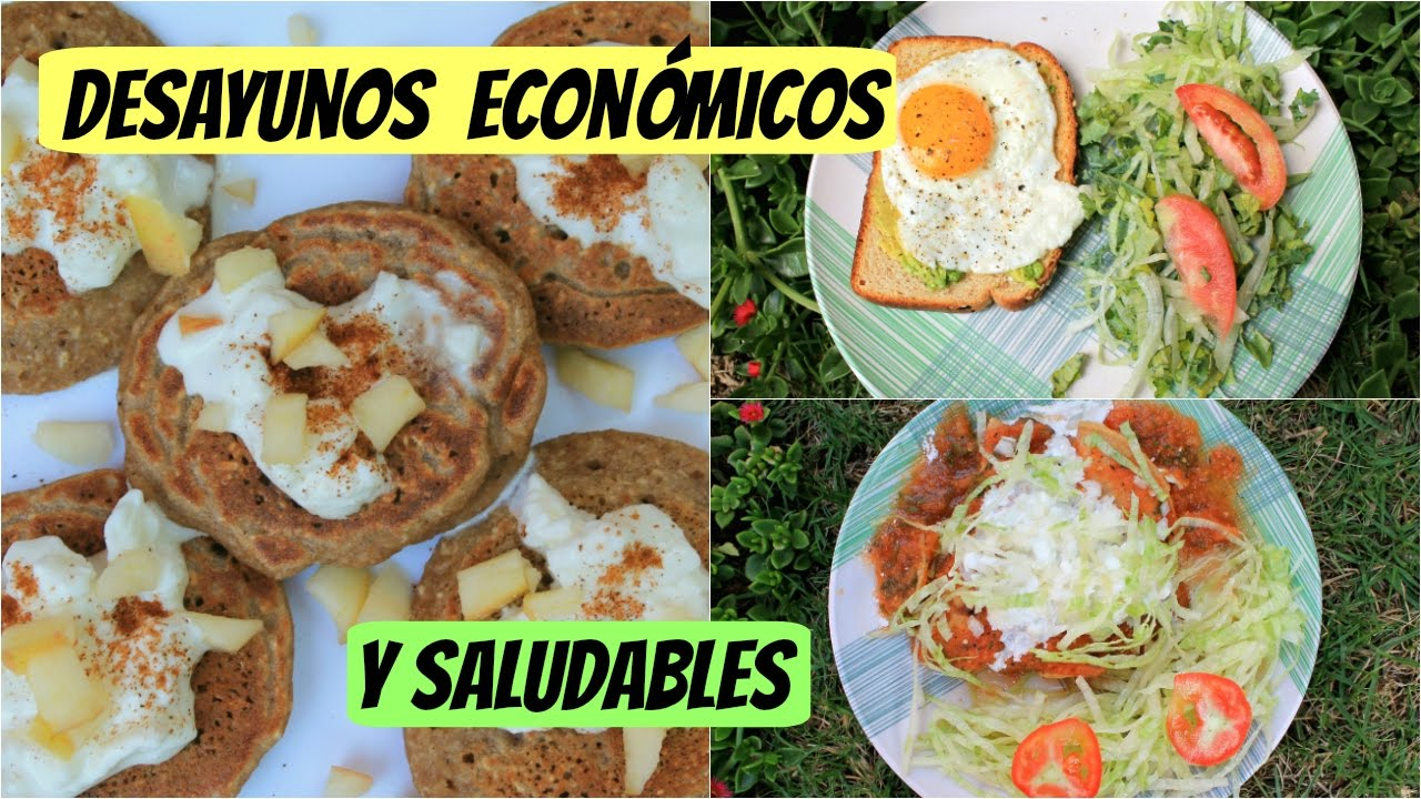 desayunos econ micos y saludables menos de 1 usd youtube On comidas rapidas y saludables y economicas