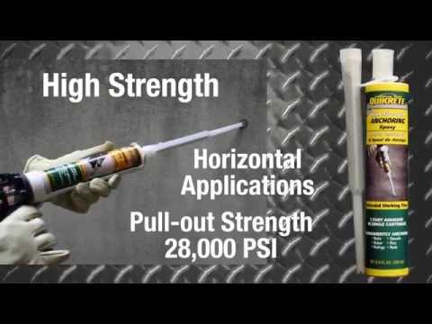 Quikrete Anchoring Epoxies - The Home Depot